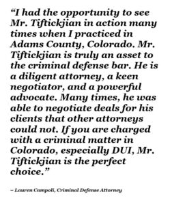 The Tiftickjian Difference Tiftickjian Law Firm P C